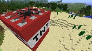 Майнкрафт ПАРКУР С TNT #1 - Minecraft ПОБЕГ ОТ ТНТ