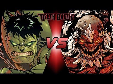 Hulk VS Doomsday DEATH BATTLE! En Español - YouTube Doomsday Vs Hulk Death Battle