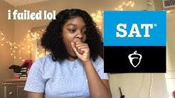 sat score reaction