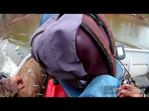 Gettin Higgi with it on the occoquan reservoir!!!