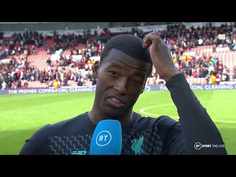 'The three points is all that matters!' Wijnaldum on Liverpo