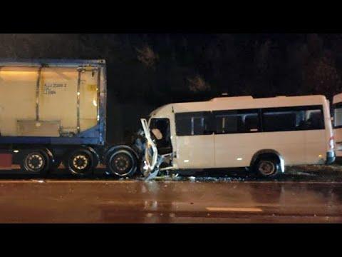Водитель микроавтобуса угробил пассажиров Дтп под Владимиром