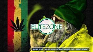 Richie Spice - Marijuana ( DownsquareZ and Labrat Remix ) Bass Enhanced.