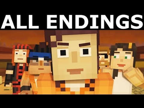 Minecraft Story Mode Season 2 Episode 4 All Endings Save Freds People Or Return With Radar
