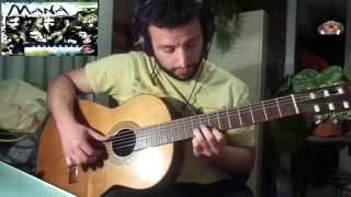 Maná - Cuando los ángeles lloran - Unplugged - Cover guitarra