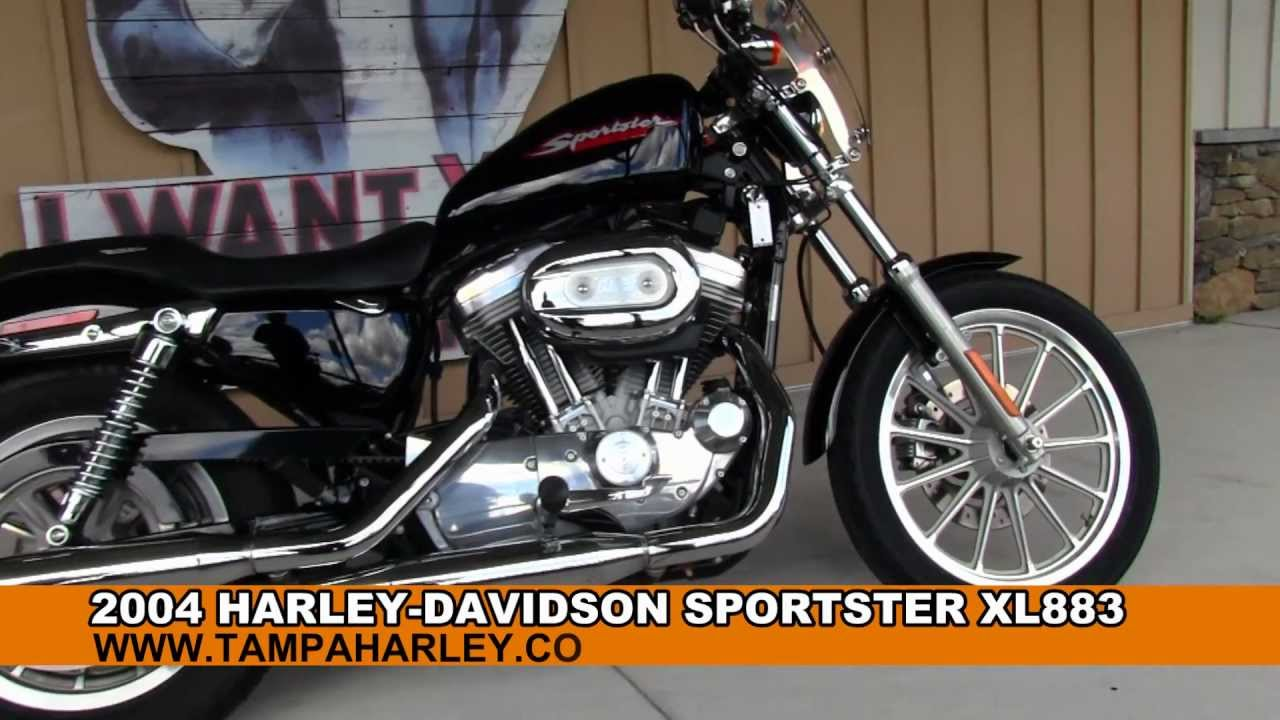 used 2004 harley davidson sportster xl883 883 iron youtube. Black Bedroom Furniture Sets. Home Design Ideas