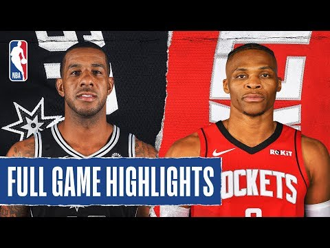 SPURS at ROCKETS | FULL GAME HIGHLIGHTS | December 16, 2019