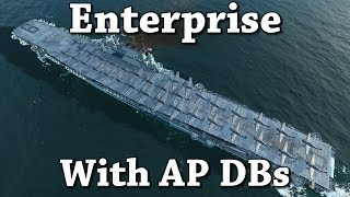 World of Warships: Enterprise With AP DBs (WIP)