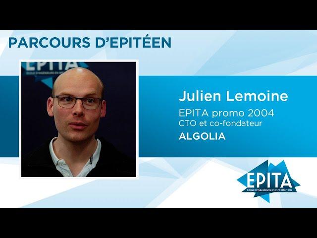 Parcours d'Epitéen - Julien Lemoine (promo 2004) - ALGOLIA