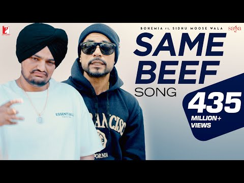 Same Beef | Bohemia |Ft.| Sidhu Moose Wala | Byg Byrd | New Punjabi Song | Most Popular Punjabi Song