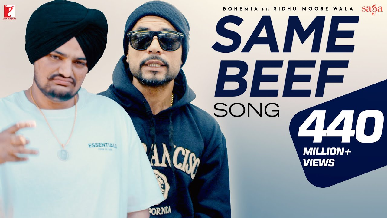 Same Beef  Bohemia  Ft.  Sidhu Moose Wala  Byg Byrd  New Punjabi Song  Most Popular Song 2019