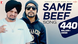 Same Beef Song | BOHEMIA | Ft. | Sidhu Moose Wala | Byg Byrd | New Punjabi Songs | Official Video