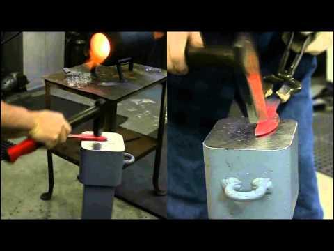 Peter Martin Knives - Hand Forging High Carbon Knife Blades