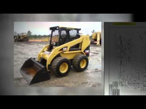 caterpillar skid steer multi terrain and compact track loaders rh youtube com Cat 277C Cat Skid Steer