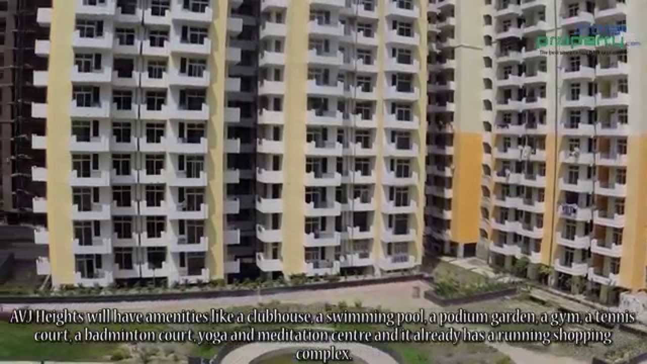 Avj Heights 1 4 Bhk Apartments At Greater Noida A Property Review By Indiaproperty