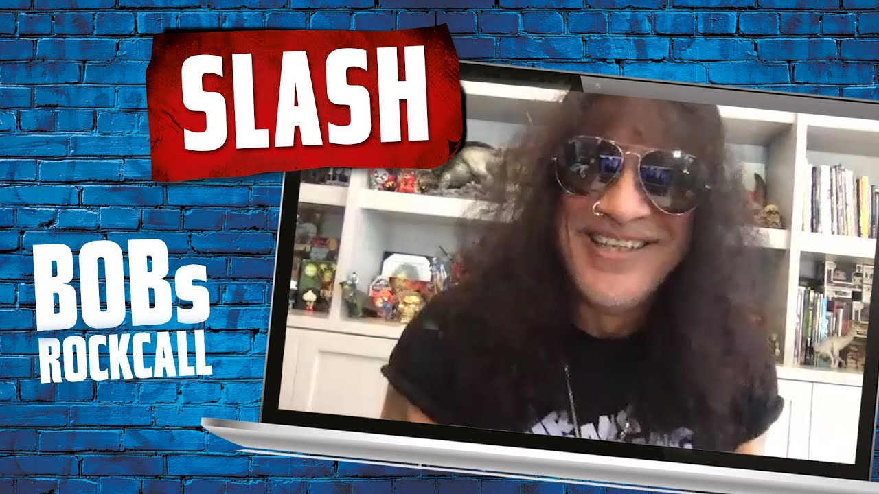 Slash about his new Album, working with Myles Kennedy and Halloween   BOBs Rockcall