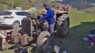 Care Sequence is on Grandpa's Tractor! | Massey Ferguson 255 Turbo
