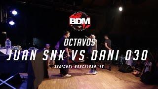 JUAN SNK vs DANI 030 / OCTAVOS BDM BARCELONA 2016 Resimi