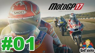 MotoGP 17 - Gameplay ITA - Carriera #01 - Il Pilota Manager