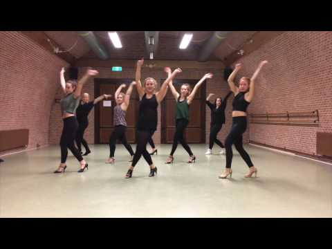 PUUR by Dinne Groothuis: Valeria - Rhythm of the night | Latin Fusion Choreography