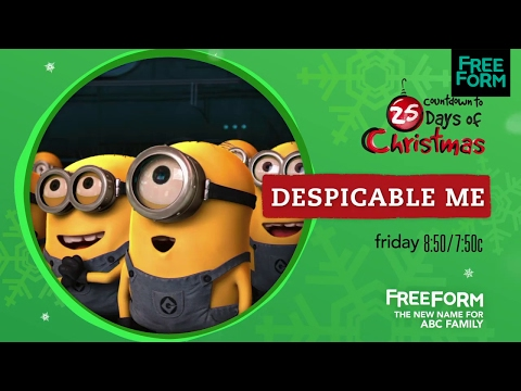 Countdown to 25 Days of Christmas, Despicable Me  Freeform