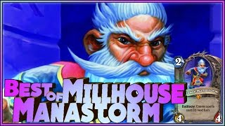 Hearthstone Best of Millhouse Manastorm - Funny and lucky Rng Moments