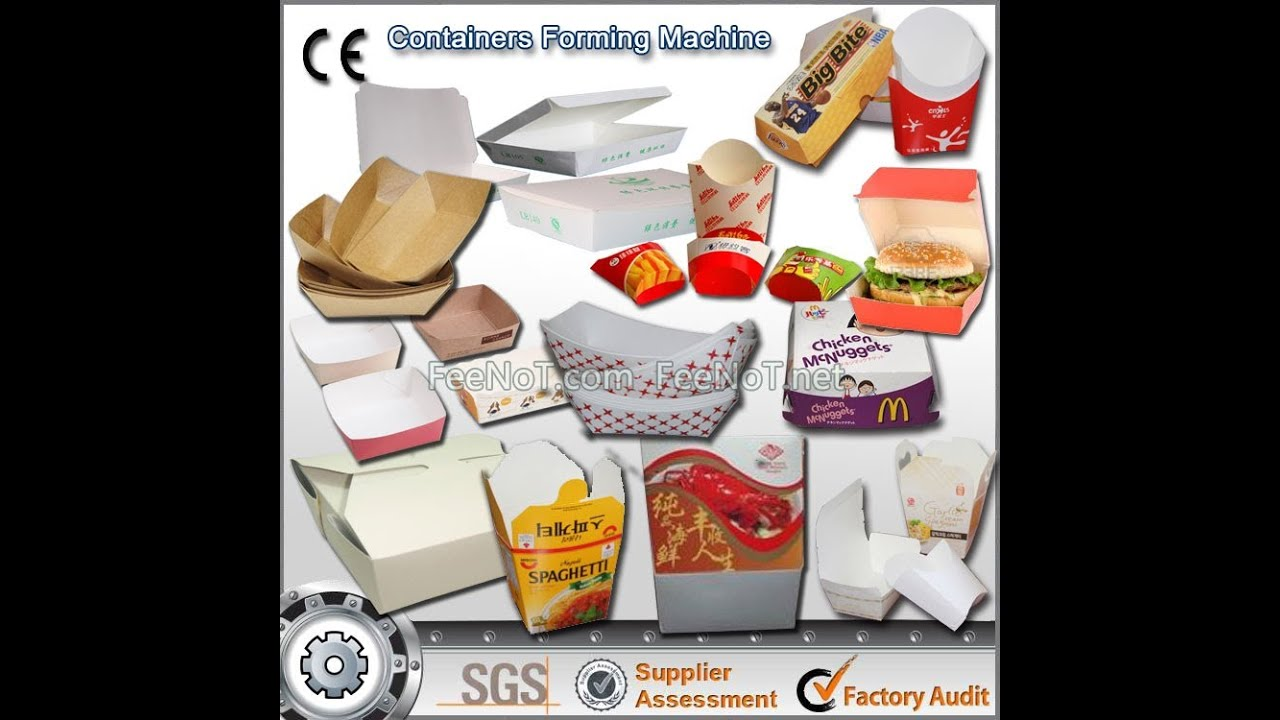 Pulp Packaging For Fast Food