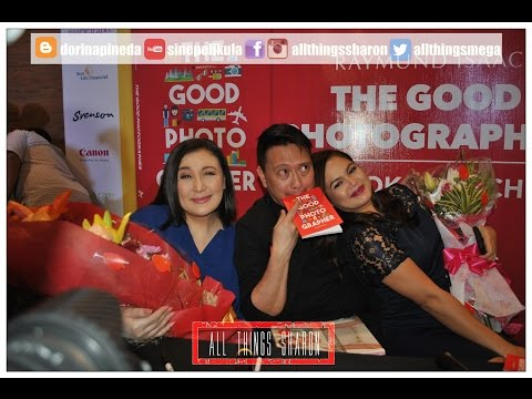 Sharon Cuneta at Raymund Isaac's The Good Photographer Book Launch