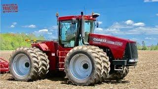 मामला IH STEIGER 335 ट्रैक्टर & amp; सूरजमुखी 6333 मृदा Finsher