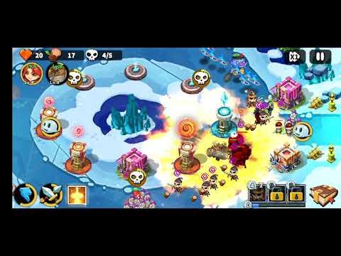 Game Hero Defense King || Chinh Phục Stage 29 |