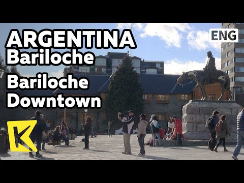【K】Argentina Travel-Bariloche[아르헨티나 여행-바릴로체]바릴로체 시내 중심/Downtown/City hall/Patagonia museum