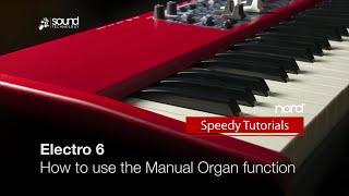 Норд електро 6: Як використовувати функцію ручного органу