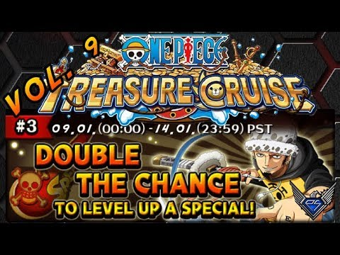 Special Level Up Event auf Global! Vol. 9 [One Piece Treasure Cruise]