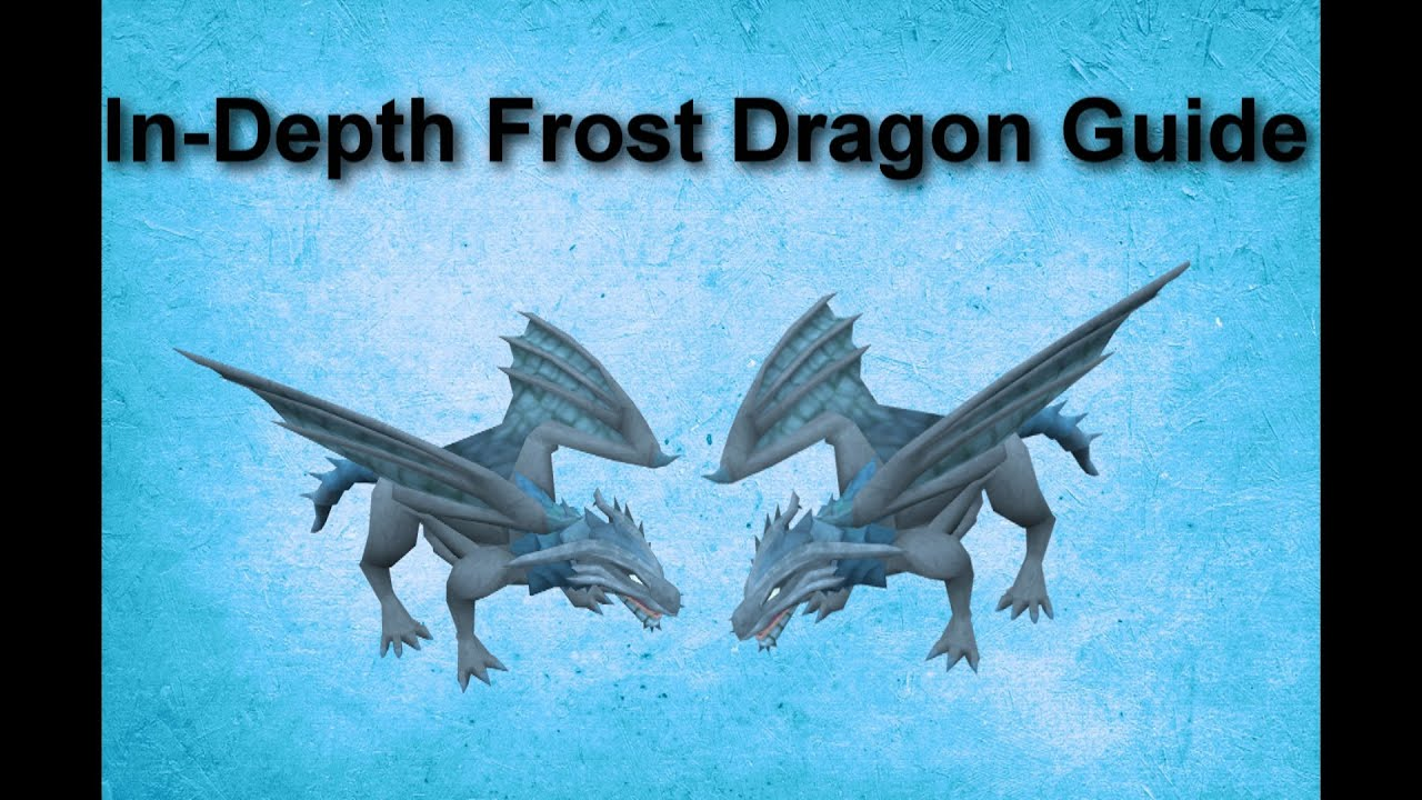 In-Depth Frost Dragon Guide - Runescape 2015 - YouTube Frost Dragon Runescape