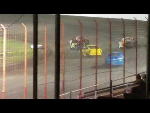 Dustin Virkus @ Madison Speedway- Feature 7.22.17, Part 2
