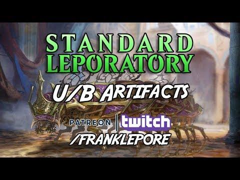 (Magic Online) Dominaria Standard Leporatory: U/B Artifacts