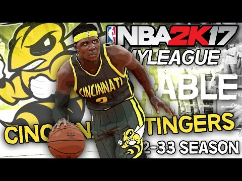 NBA 2K17 MyLEAGUE: Cincinnati Stingers (Season 17) - Unstoppable!