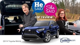 LeithCars.com He Said, She Said car review of the 2019 Toyota RAV4 SUV - Ep. 1