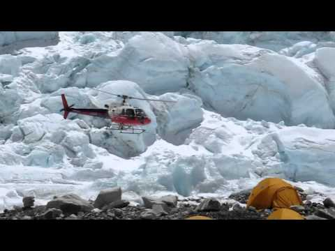 Everest Helicopter flying KTM Lukla Basecamp Rescue C2 by Herbert Hellmuth Simone Moro