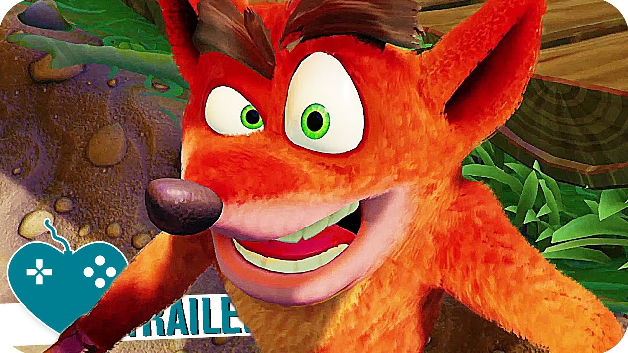 CRASH BANDICOOT N. SANE TRILOGY Trailer (2017) Crash ...