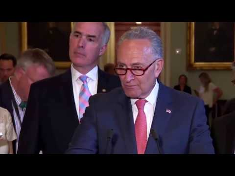 Chuck Schumer SLAMS Trump Jr for LYING so Much about his meeting with russian lawyer