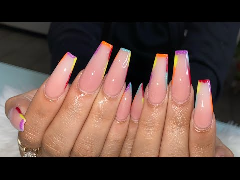 Acrylic Nails Tutorial | All Acrylic No Polish thumbnail