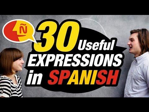 Learn Spanish: 30 Common Spanish Phrases