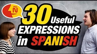 Learn Spanish: 30 Common Spanish Phrases