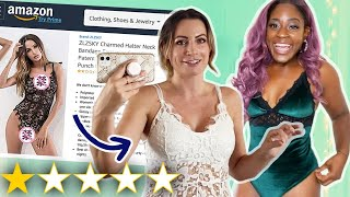 We Tested Amazon's WorstRated Lingerie