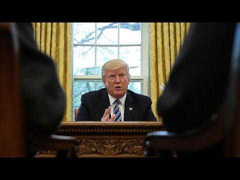 Trump fears 'major, major conflict' with North Korea - BBC