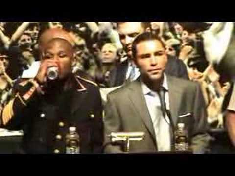 Oscar De La Hoya & Floyd Mayweather POST FIGHT PRESSER ...