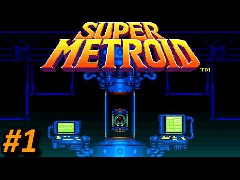 Super Metroid (SNES) || EPISODIO 1 - La llegada al Planeta Zebes || En Español