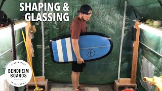 Shaping and Glassing a Paipo Surfboard
