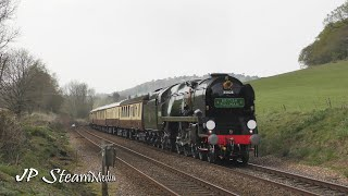 35028 'Clan Line' with the Maundy Thursday 'British Pullman' | 18.04.2019
